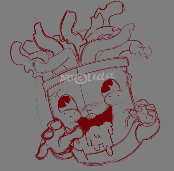 Random Art - Fan art - Steven Universe - Frybo WIP