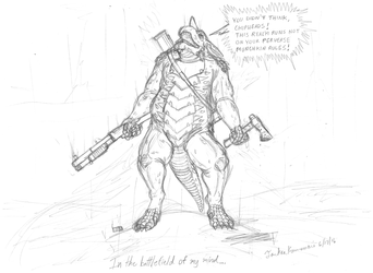 Mind of the Battledrake - Draft