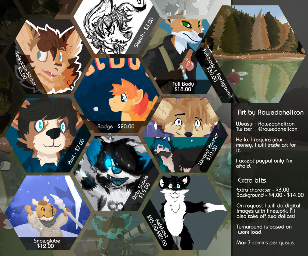 Featured image: Commissions open (Archive, new prices soon)