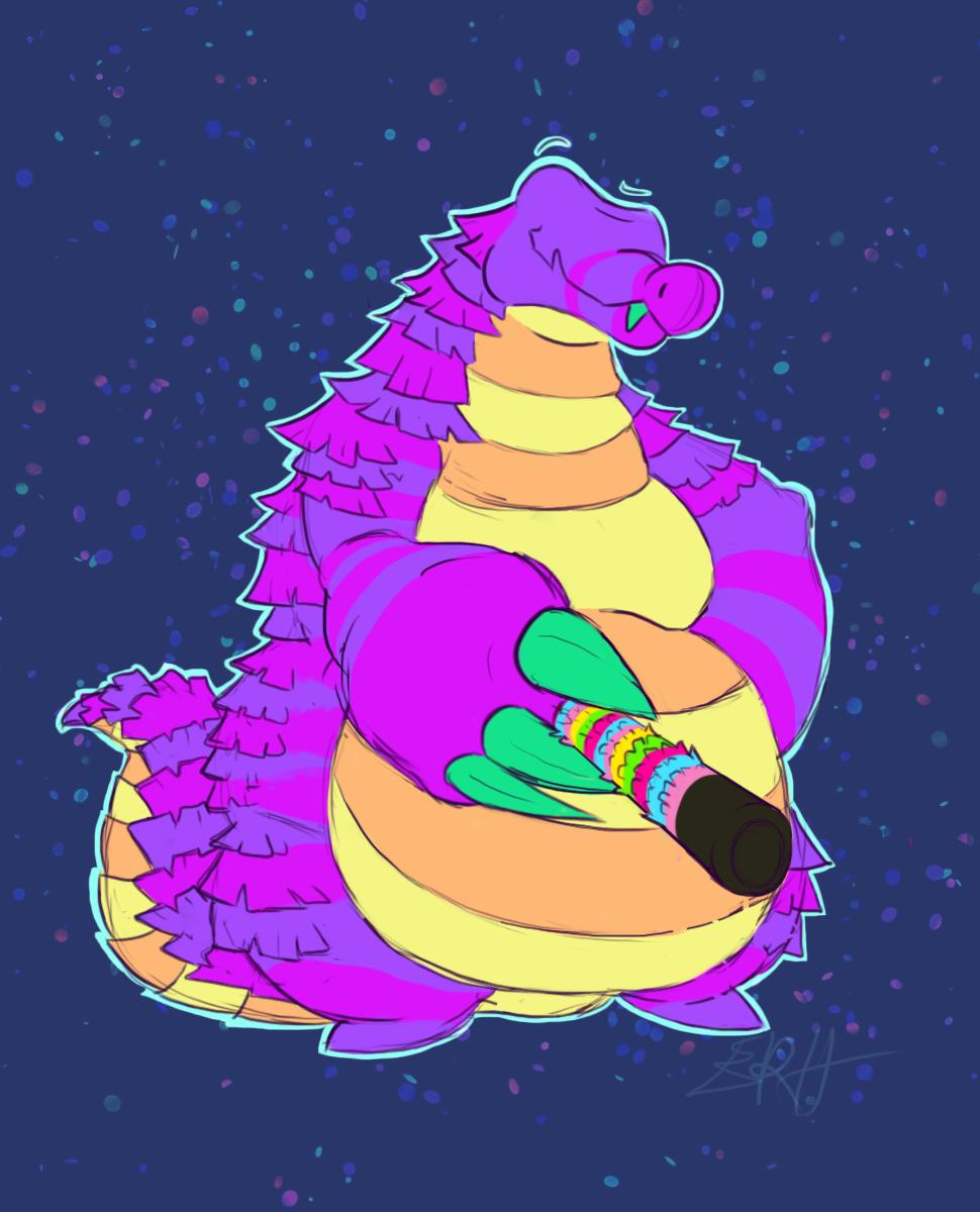 Da Piñata Gator [com]