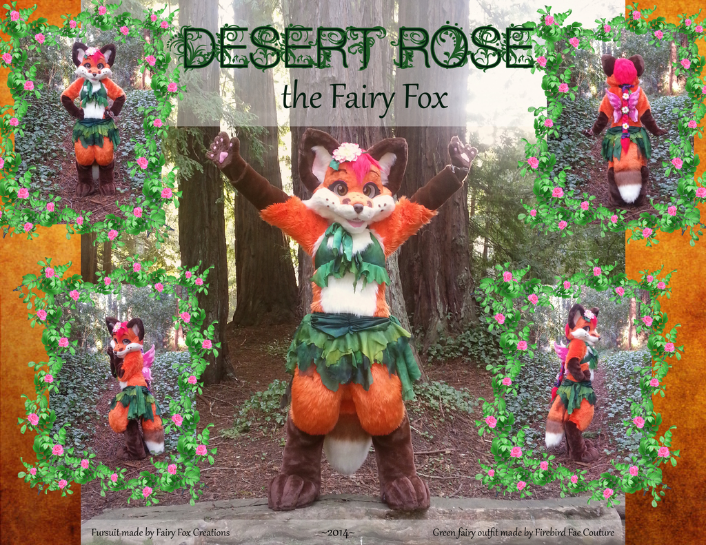 desert rose the fairy fox fursuit weasyl. Black Bedroom Furniture Sets. Home Design Ideas