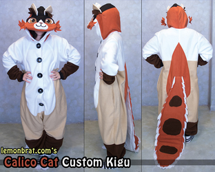 Calico Cat Custom Kigu