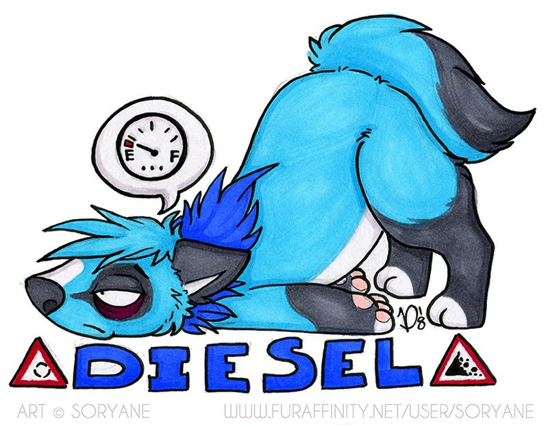Diesel - Derp Badge