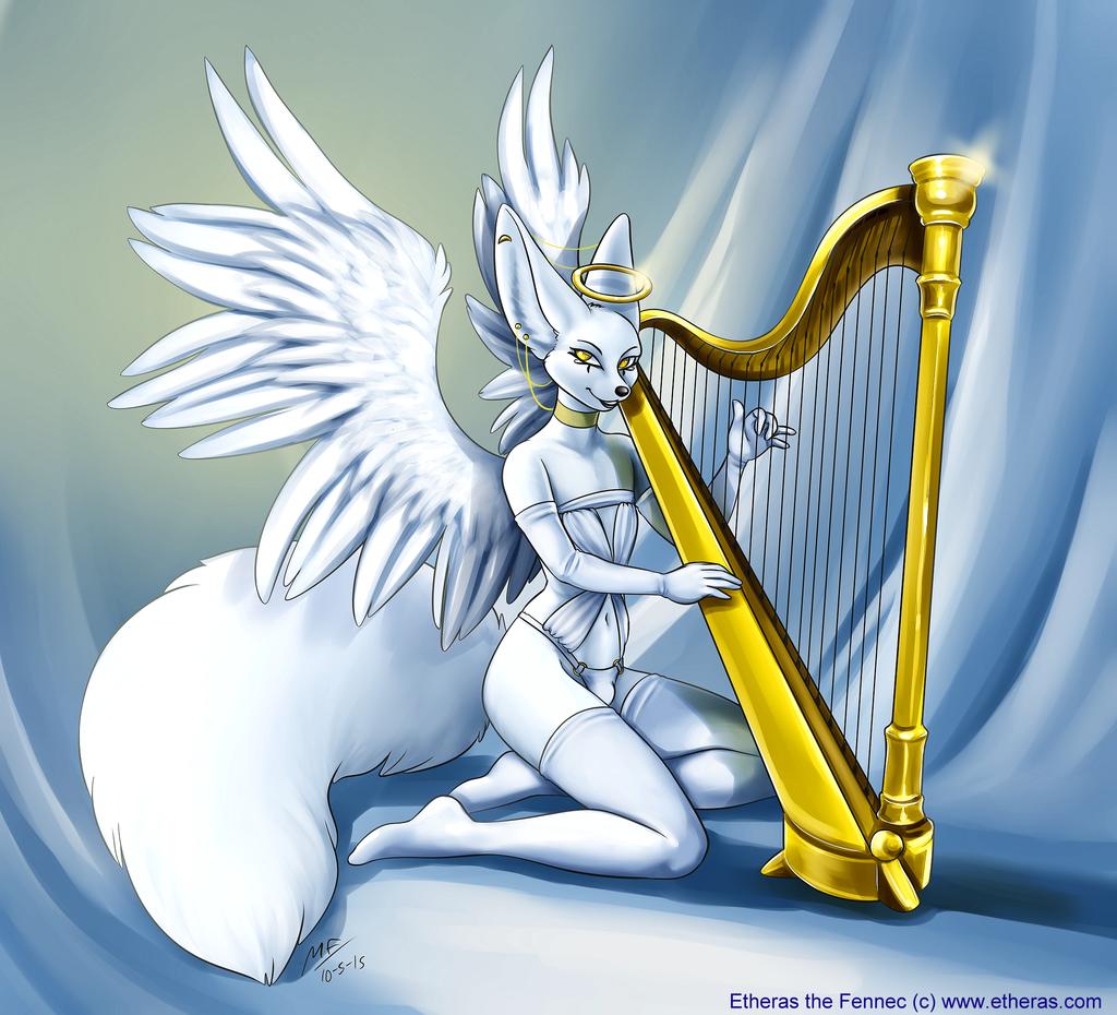 Angelic (by MoodyFerret)