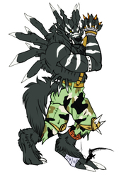 Blackweregarurumon