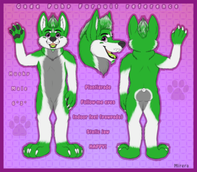 Gage Puhp Fursuit Reference