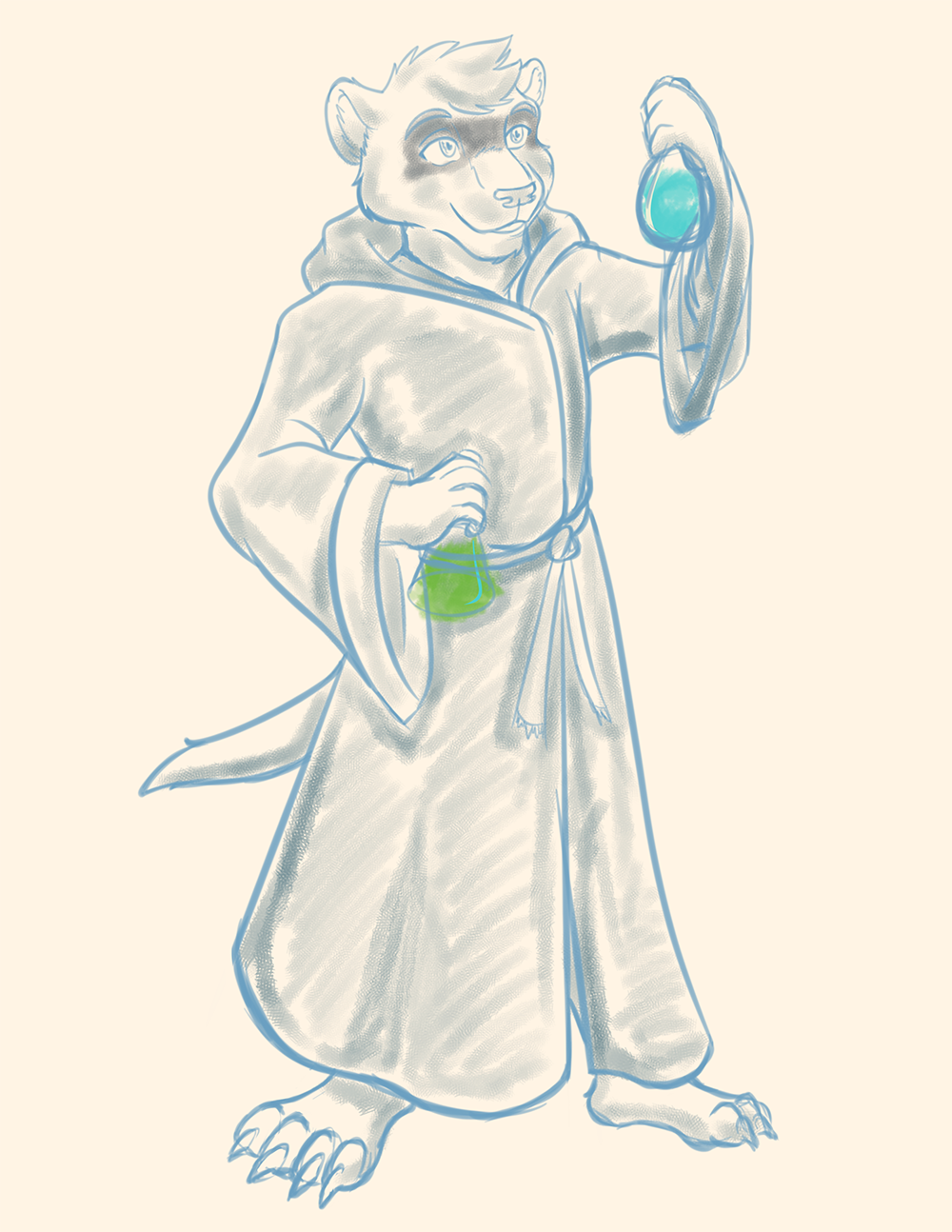 TFF - Full Ferret Alchemist