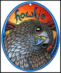 Hawkie Egg Badge