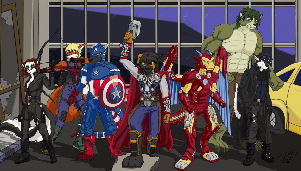 Avengers Assemble [By Skippy]