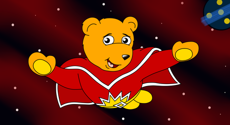 Superted's Space Flight