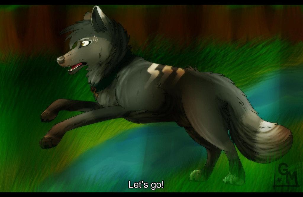 """.:""""Let's go!"""":."""