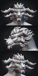 Argos Khornyr - Sculpting Commission