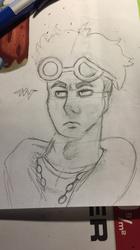Guzman / Guzma [Commission / sketch] 3/???