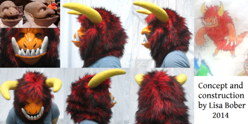 Tik monster mask - 2014