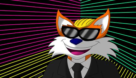 Fox Tailroom [Furpocalypse 2018 Badge Design Submission]