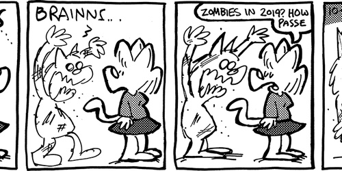 Comictober2019 Day 2: Zombies