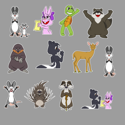 Cottontail Pines Telegram Sticker Major Update