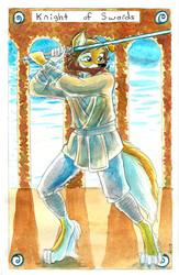 Tarot Sample  - Knight of Swords
