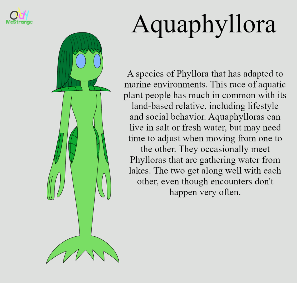 Aquaphyllora - Brief Concept