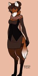 Maned wolf lady