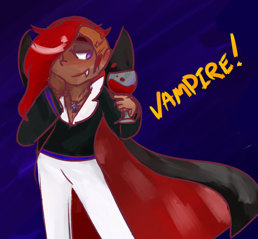 Most recent image: Vampire!