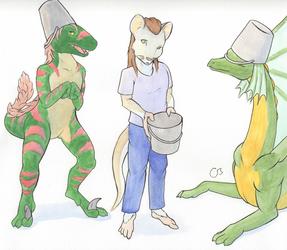 Buckets by Thabi