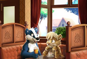 Makati meets Blue Badger