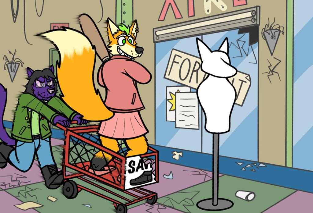 Goin' shopping! (Comm for Valposs)