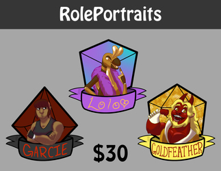 RolePortrait Badges