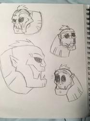 Killer Croc (Brave and the Bold) Sketch