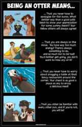 Being An Otter Means....