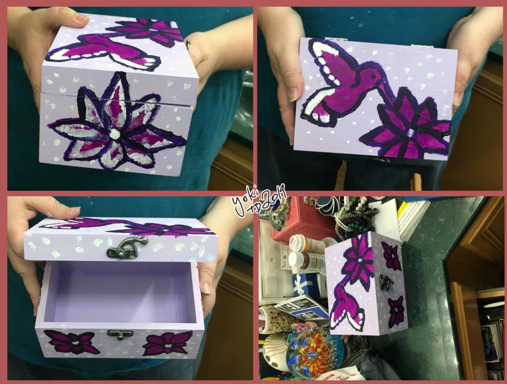 [G] Finished Hummingbird Jewelry Box Final Edits