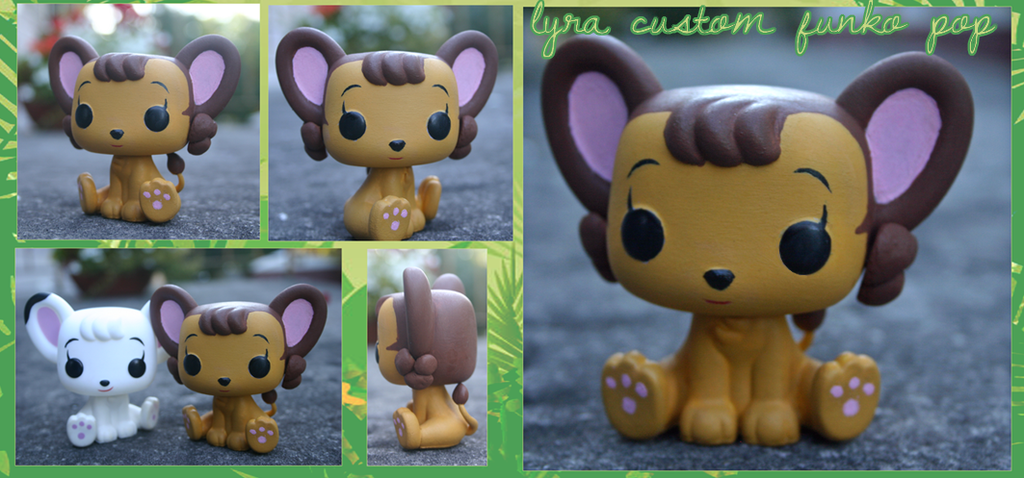 Custom Lyra Funko Pop