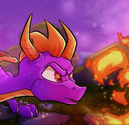 Dragon Flames (Fan-Art)