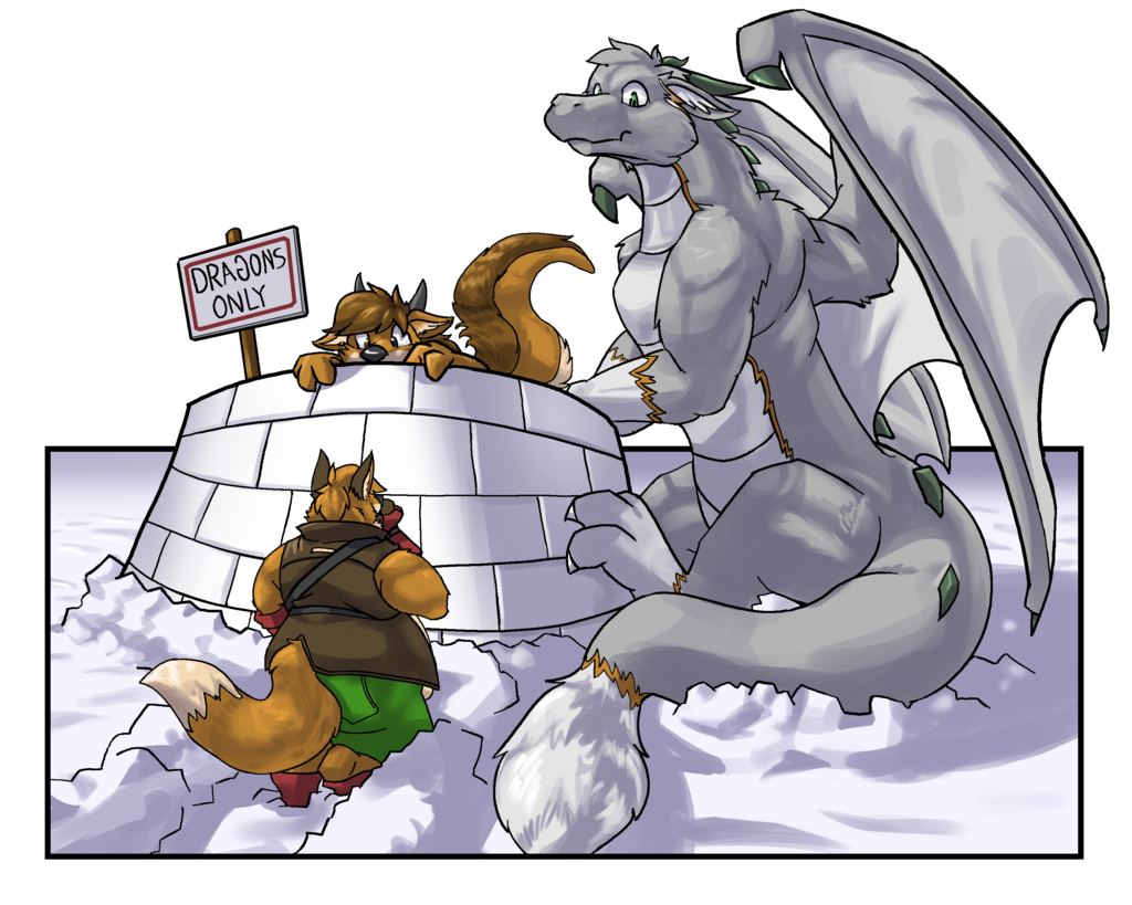 Dragon Snowfort