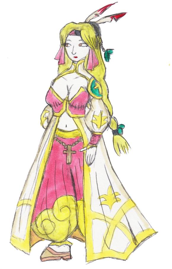 Frederica of Bahamut Lagoon 01