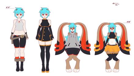 Eva Outfit Concepts