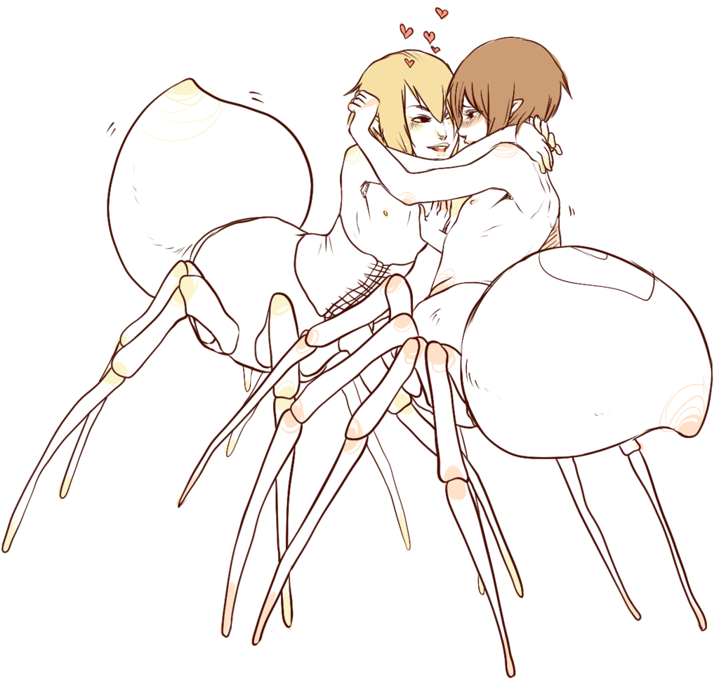 inappropriate spider touching