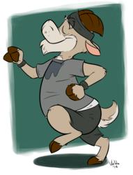 Jogging Goat