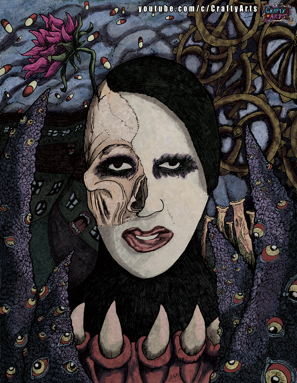 MArilyn Manson We ARe Chaos Tribute CraftyAndy