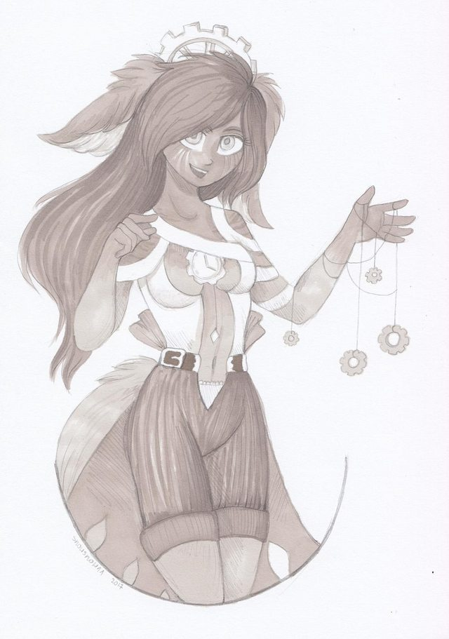 By SnowSnow11, Sketchy DiaoChan