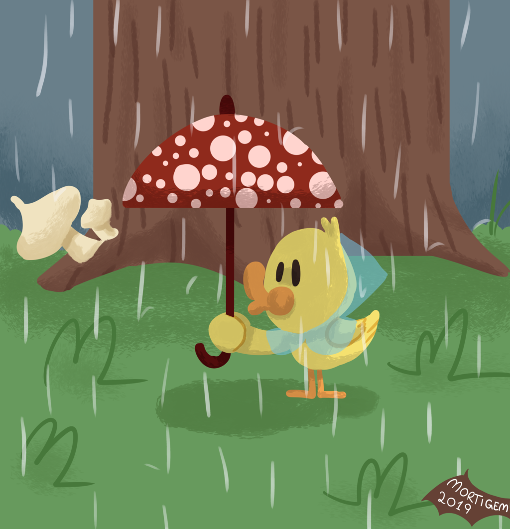 It's raining!!