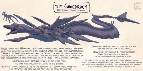 Alurian Wildlife - Graedraun