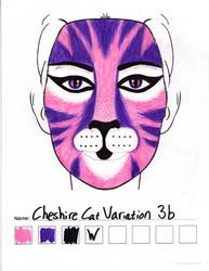 Cheshire Cat Variation 3b makeup sketch