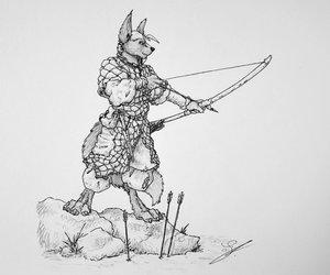 Slavic Wolf-Bowman