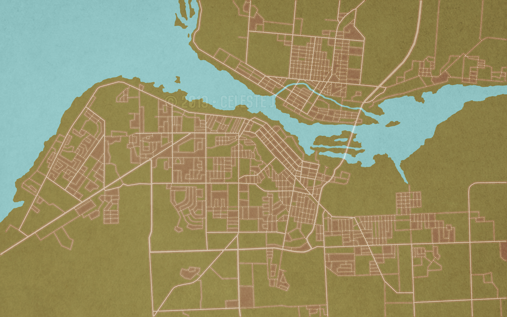 Most recent image: city map 4.