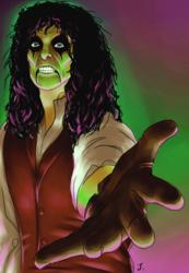 Drawlloween #13: Frankenstein