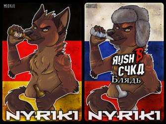 .: Nyriki Badge [COM]