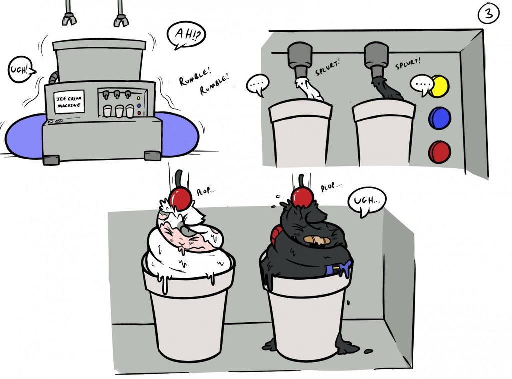 """Stream Sketch 3 - """"There's Always Time for Ice Cream!"""""""