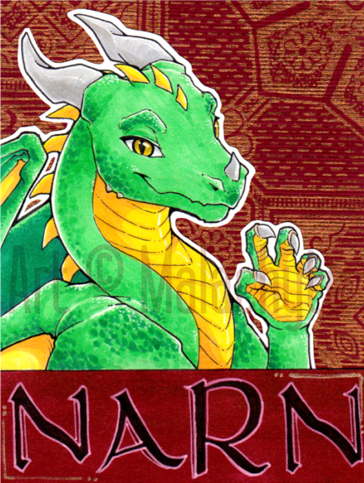 [Badge] Narn Backed Badge